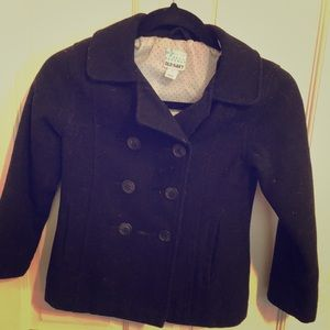 Girls pea coat